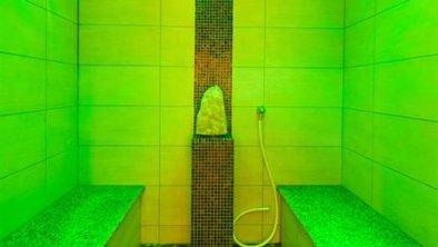 Aroma-Dampfbad_grüne Beleuchtung