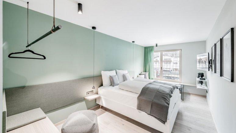 Bedroom at das Max, © das Max