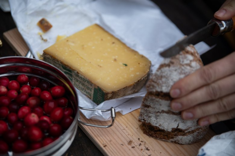 A traditional Tirolean snack.