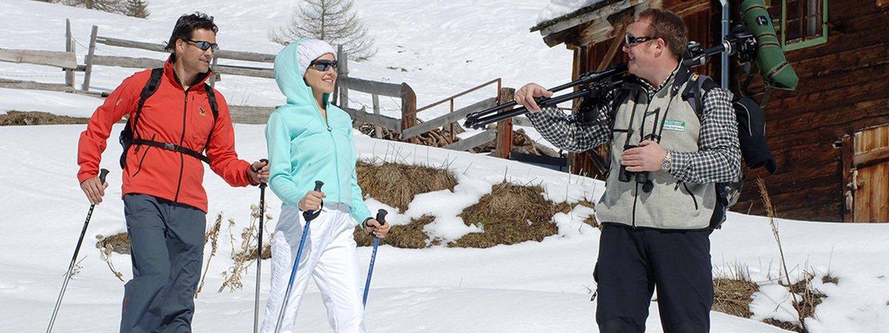Taurer Valley Bottom Snowshoe, © Osttirol