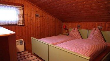 Schlafzimmer im Ferienhaus Stock
