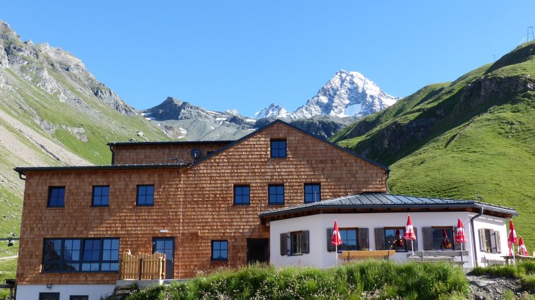 At the foot of the mighty Großglockner …