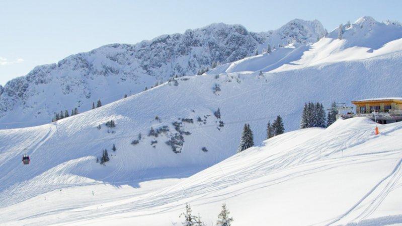 Hahnenkamm ski resort near Reutte, © Robert Eder