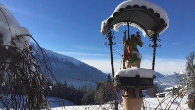 Haus Lukas Mösern Aussicht Winter