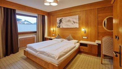 Schlafzimmer Appartement Wildspitze