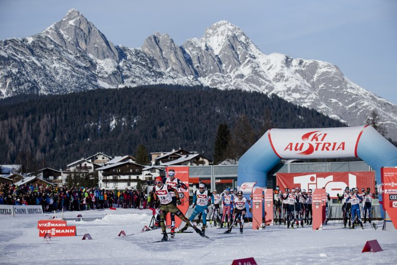 From February 19 to March 3, 2019, Seefeld will host the Nordic World Ski Championships. Photo Credit: Olympiaregion Seefeld/Stephan Elsler