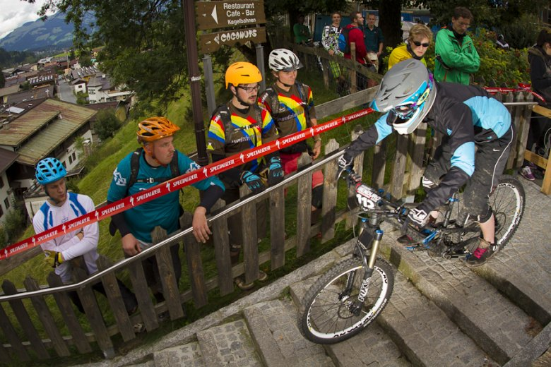The first ever MTB Enduro European Championships took place in Kirchberg. , © Tom Bause