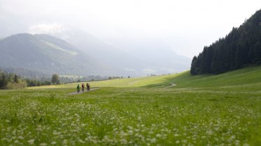 Mountain biking near Kössen, © Tirol Werbung / Soulas Oliver