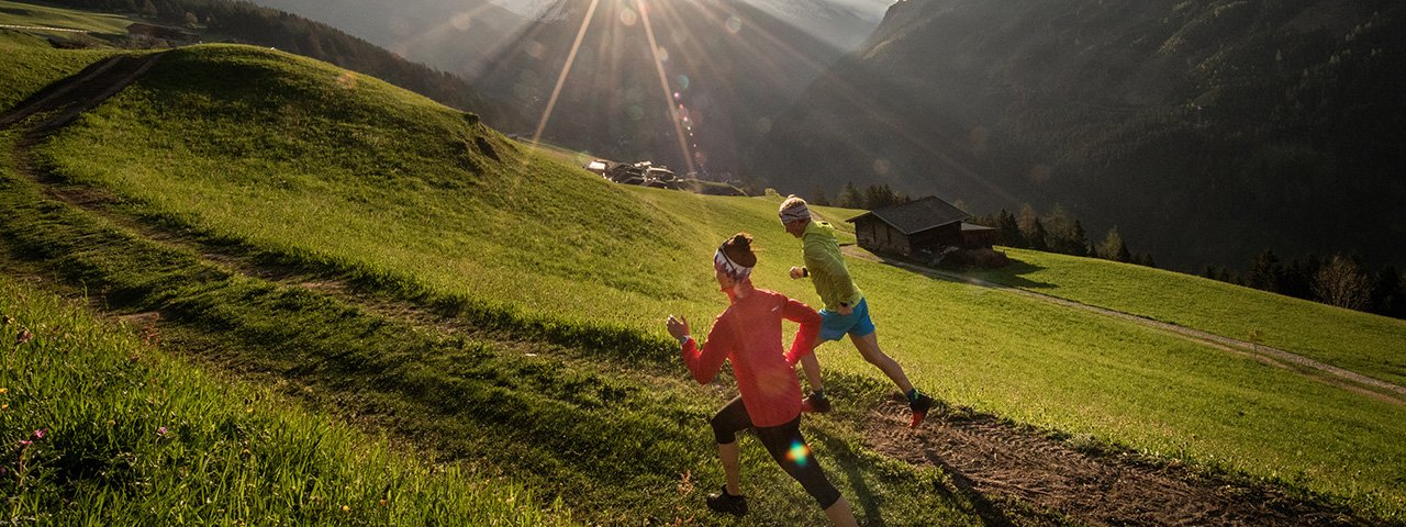 Along the way, trail runners will be treated to spectacular views of Mayrhofen's iconic summits and peaks and Upper Zillertal Valley's unmistakable high-alpine terrain, © Dominic Ebenbichler