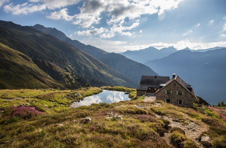 Friedrichshafener Hut in Verwall Mountain Range (c) TVB Paznaun-Ischgl, © TVB Paznaun-Ischgl