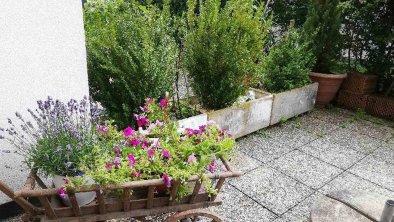 Deluxe Terrasse Blumen