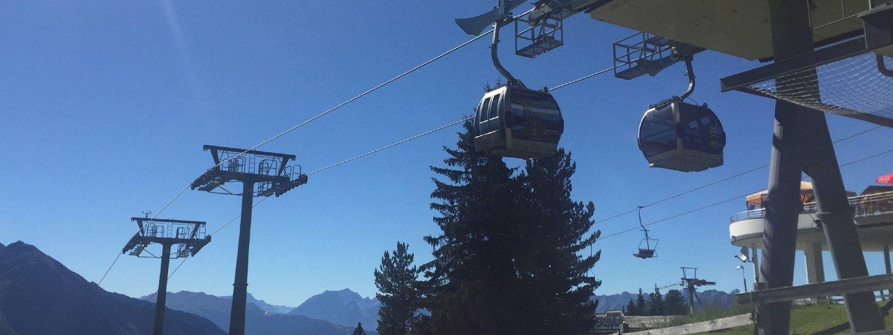 Acherkogelbahn cable car in Oetz, © Tirol Werbung/Ines Mayerl
