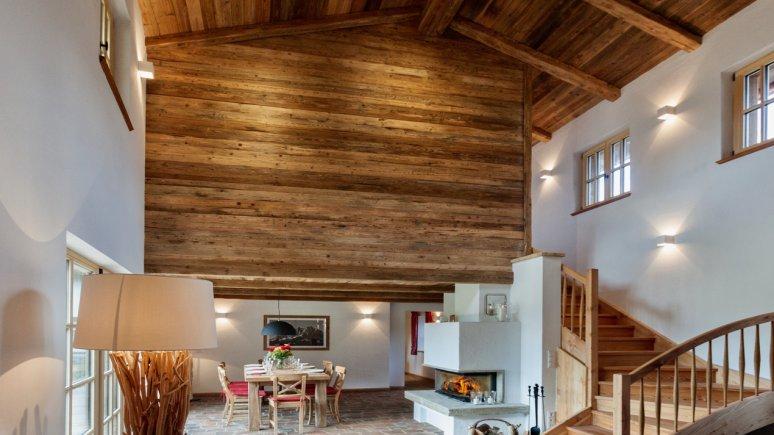 Living area in the Chalet Bergwiesenhof, © Chalet Bergwiesenhof