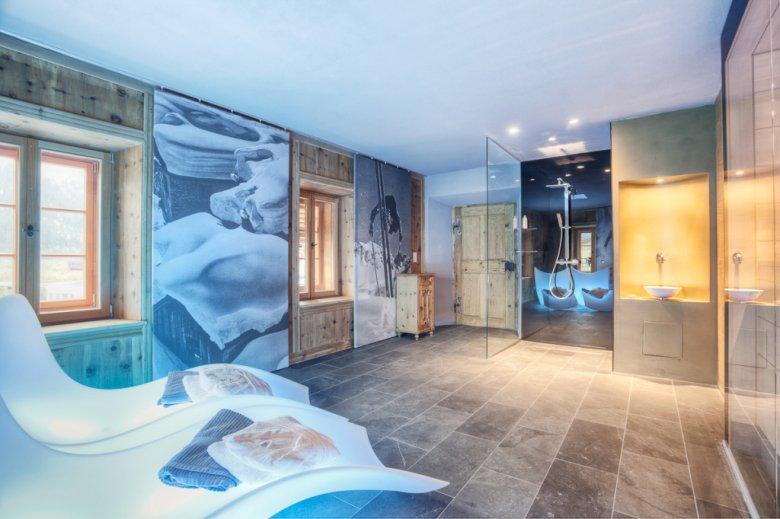 A spa fit for a deluxe design hotel. (Photo Credits: Alexander Mattersberger for Tassenbacherhof)