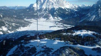 Blick zur Zugspitze, © Haus Sonnenblume Lermoos