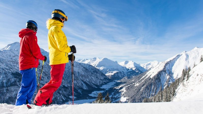 Skiing in the Lechtal Valley, © TVB Lechtal