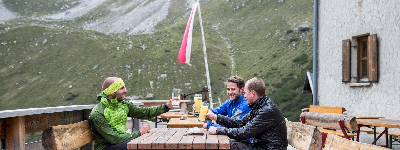 Steinseehütte, © Tirol Werbung/Dominik Gigler