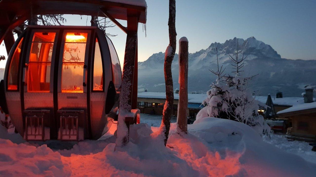 Infrared gondola, © Hochfeldalm