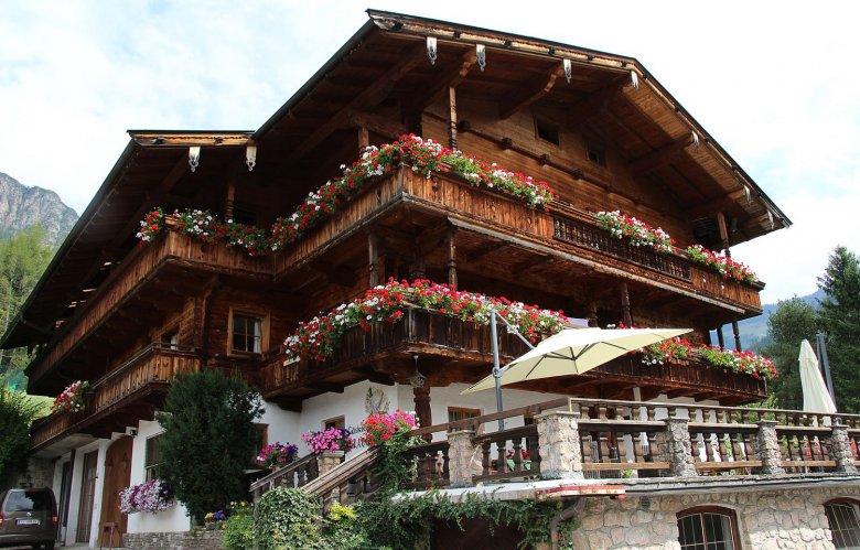 The Gratlspitz guesthouse in Alpbach. Photo: Gästehaus Gratlspitz