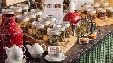 Offene Tees für ein gesundes Frühstück