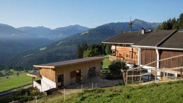 Flecklhof in Hopfgarten, Brixental Valley, © Tirol Werbung/Lisa Hörterer