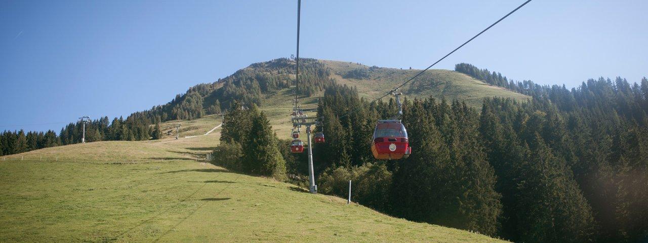 Gondelbahn Hohe Salve cable car, © Tirol Werbung/Jens Schwarz