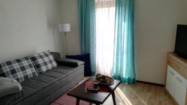 Wohnbereich Ferienwohnung Dahoam