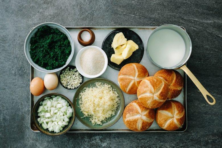 Spinach Dumplings: Ingredients