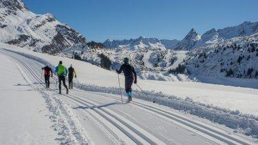 The cross-country skiing trail, © TVB Paznaun-Ischgl