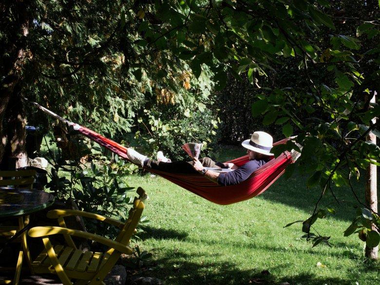 Relaxing at the Unterwirt. , © Tirol Werbung / Nicolas Hafele
