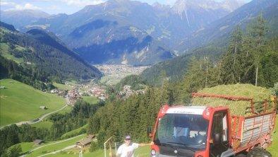 tolle Aussicht auf Mayrhofen