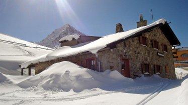 Wiesberghaus im Winter