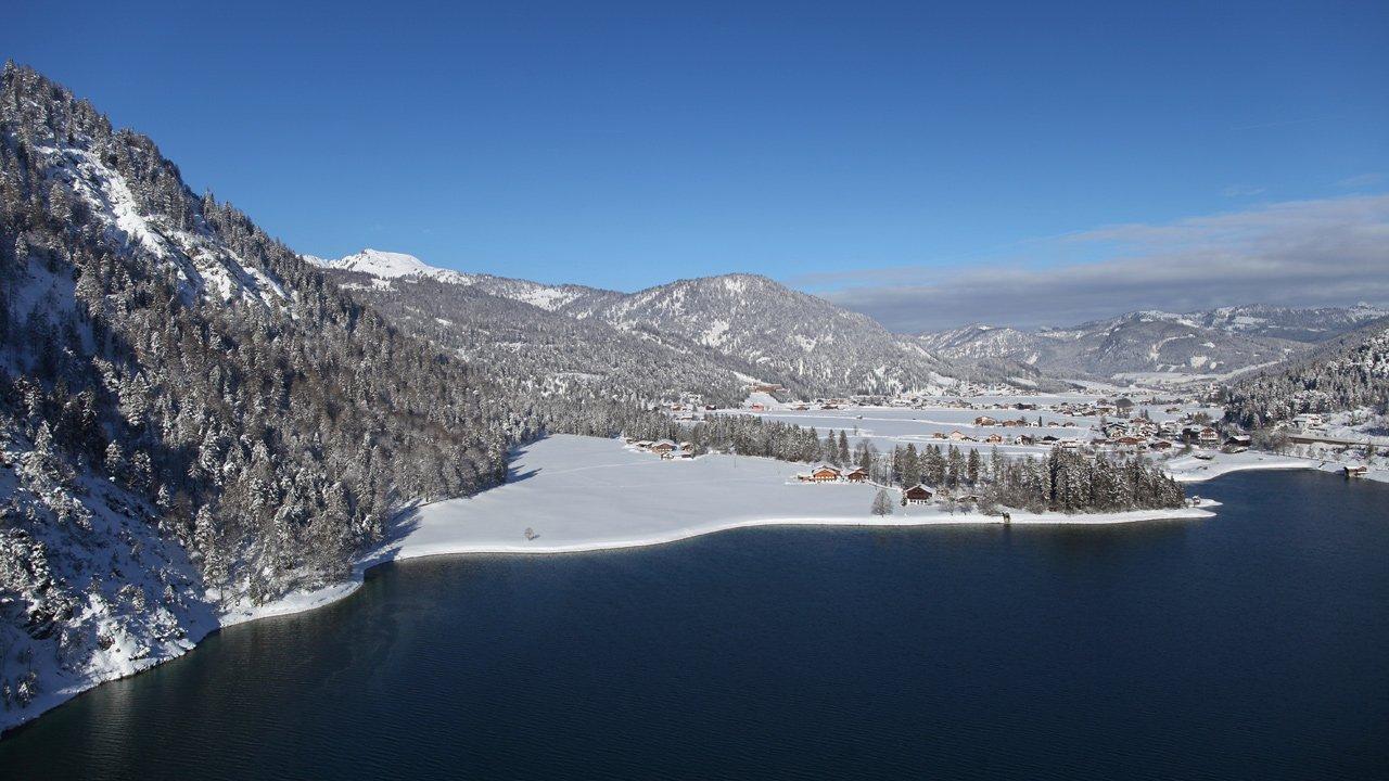 Achenkirch in winter, © Achensee Tourismus