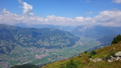 Vom Berg Zillertal