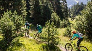 Singeltrack trails in Nauders, © Tirol Werbung / Haiden Erwin - bikeboard