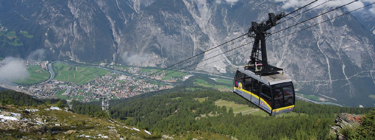 Venetbahn cable car in Zams, © Tirol West