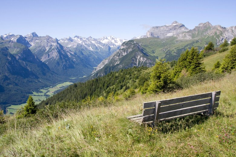 The perfect place to relax – high above the Gschnitztal Valley. , © Tirol Werbung, Markus Jenewein