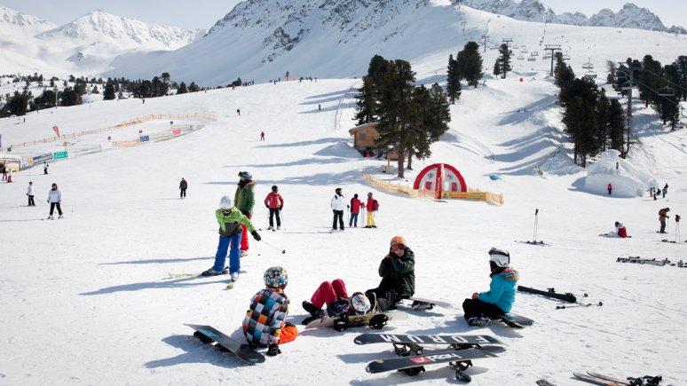 Nauderix Kinderland at Nauders ski resort, © Tirol Werbung/Verena Kathrein