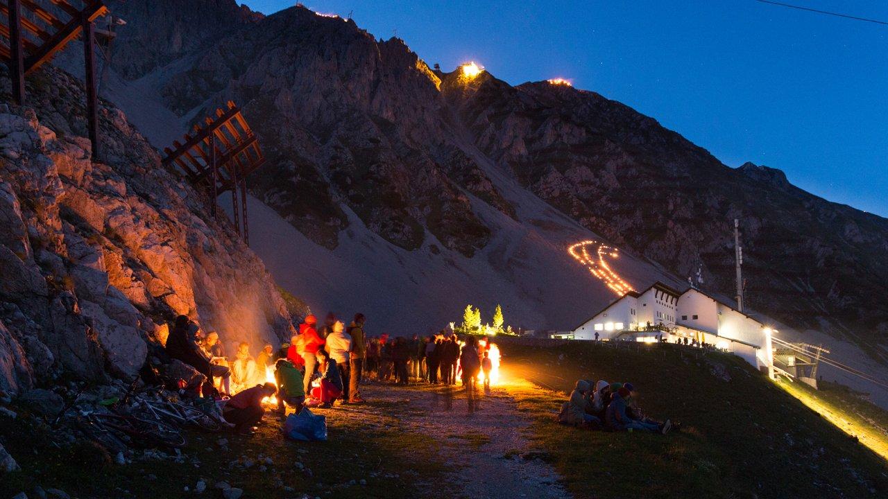 Solstice Celebrations at Innsbruck Nordkette Mountains, © Innsbrucker Nordkettenbahnen