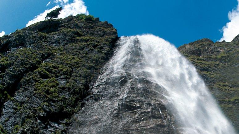 The Waterfalls at Hintertux, © TVB Tux-Finkenberg
