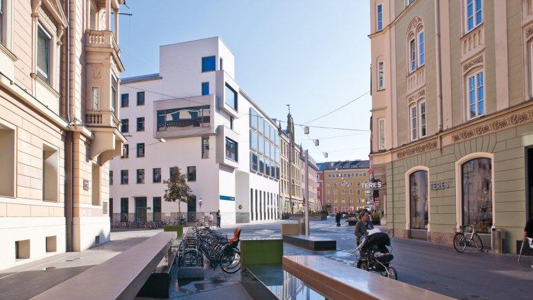 BTV Stadtforum, Architect: Heinz Tesar, © TVB Innsbruck