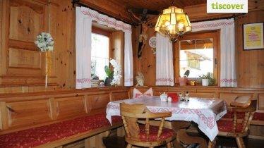 Frühstücksraum Fensterecke