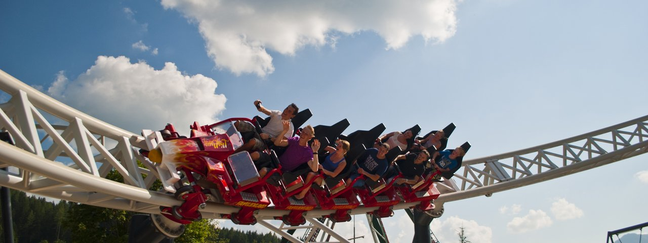 The Roller Coaster at Pillersee Family Land, © Familienland Pillersee