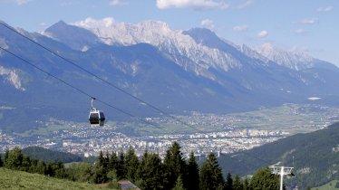 Gondelbahn Mutteralmbahn cable car, © TVB Innsbruck