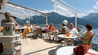 Gletscherblick Hippach - Panoramaterrasse