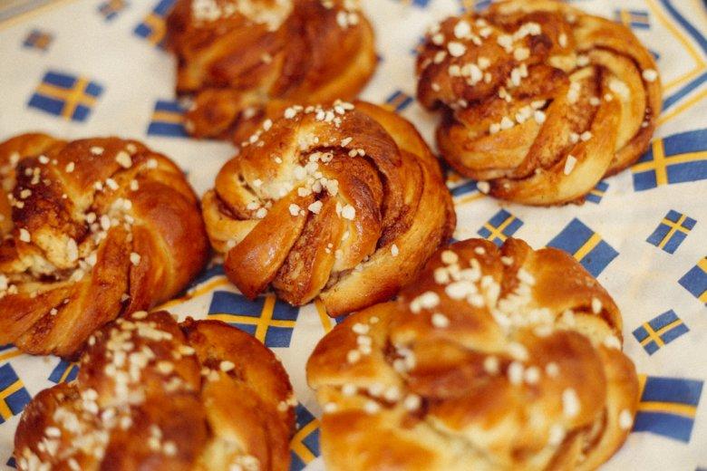 Schwedische Gastfreundlichkeit: Bei Sara gibt's Kanelbullar zur Begrüßung.