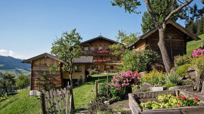 The Siedlerhof farm in Hopfgarten. , © Lisa Hörterer
