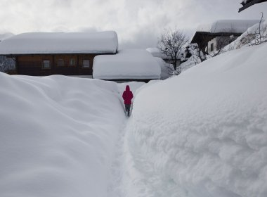 2013-2014 saw the severest winter of the century so far: Obertilliach, East Tirol.