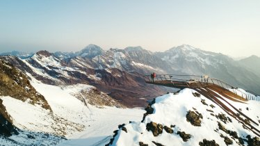 """Top of Tyrol"" Viewing Platform, © Stubaier Gletscher / Andre Schönherr"
