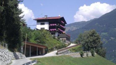 Gästehaus Rieser-Ried im Zillertal-überd.Parkplatz